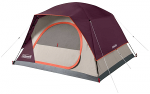 Coleman Skydome 4-Person Tent at Dick's Sporting Goods.