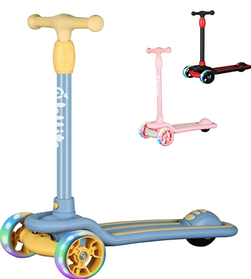 Jollito Kids Kick Scooter for $31.38 (was $42.99) on Amazon.