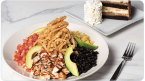 1/25/21-1/29/21, Get any lunch special and one slice of cheesecake at The Cheesecake Factory for $15 through DoorDash.