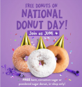 Free Donut at Duck Donuts on June 4, National Donut Day!