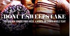 Enter The LaMar's Donuts Sweepstake for a chance to win Free Donuts for a year!