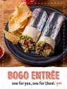 Moe's is gifting BOGO entree today through Sunday with the app purchase!